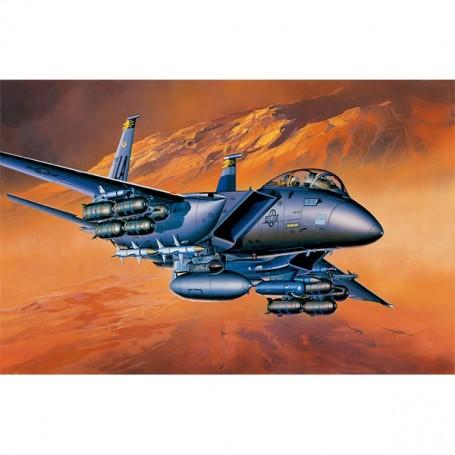 KIT ACADEMY 1/72 AIRCRAFT F-15E STRIKE EAGLE 12478