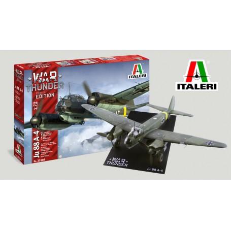 ITALERI KIT 1/72 AIRCRAFT JUNKERS JU-88 WAR THUNDER 35104