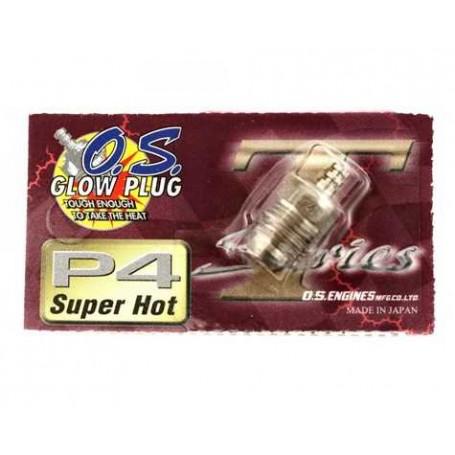 "O.S. P4 Turbo Glow Plug ""Super Hot"""