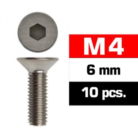 M4X6MM FLAT HEAD SCREWS (10 PCS) ULTIMATE