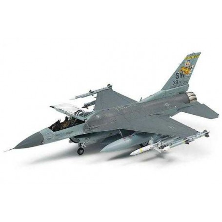 KIT TAMIYA 1/72 F16CJ w/FULL EQUIPAMENT