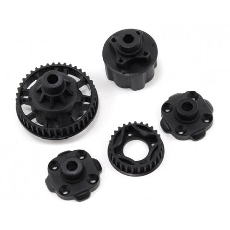 Mugen Seiki Differential Case & Differential Pulley Set