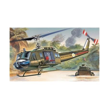 Kit Helicoptero 1/72 Italeri UH-1D Slick.