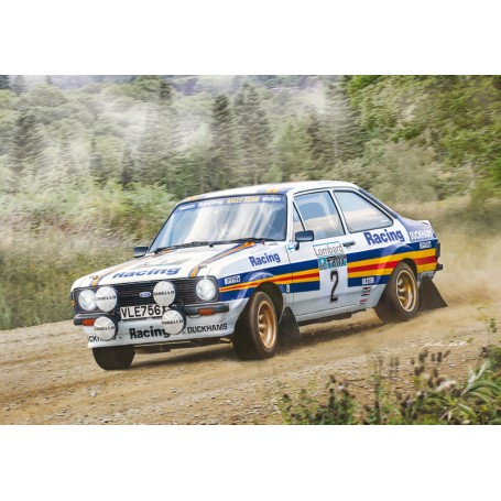 Italeri 1/24 Ford Escort RS1800 Mk.II Lombard RAC Rally