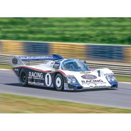 Italeri 1/24 Porsche 956 Model Kit - 3648