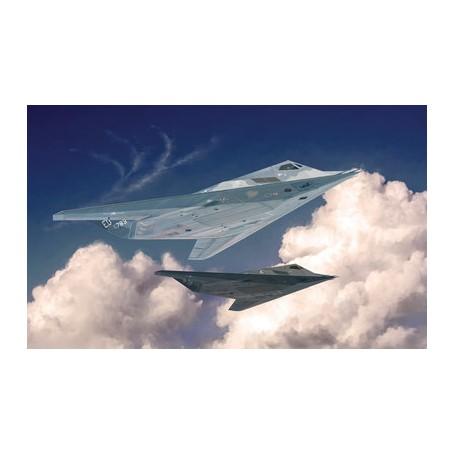 Kit Avião 1/48 Italeri F-117A Nighthawk.