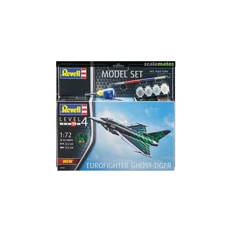 "Revell 1:72 MODEL SET Eurofighter ""Ghost Tiger 63884"