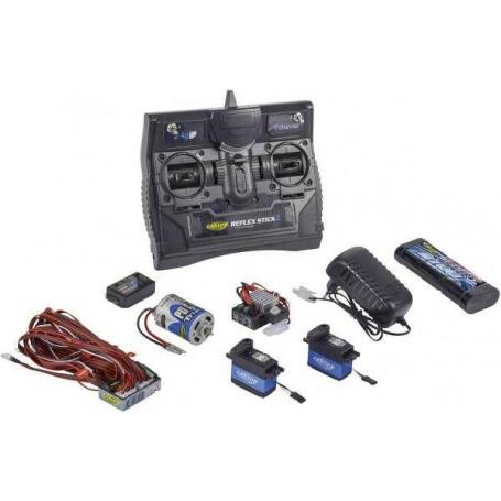 Reflex Stick Truck-Set Handheld RC 2,4 GHz No. 6 channels Carson