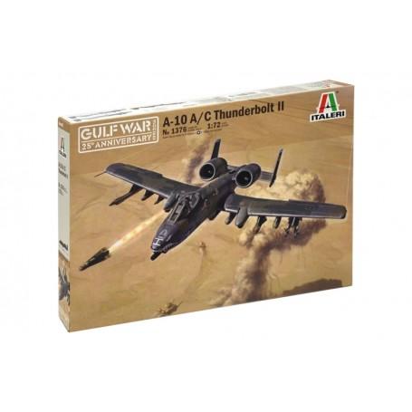KIT ITALERI 1/72 AIRCRAFT A-10A/C THUNDERBOLT II 1376