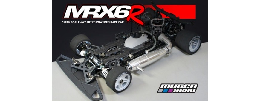 Peças Mugen MRX6R Nitro 1/8  On Road