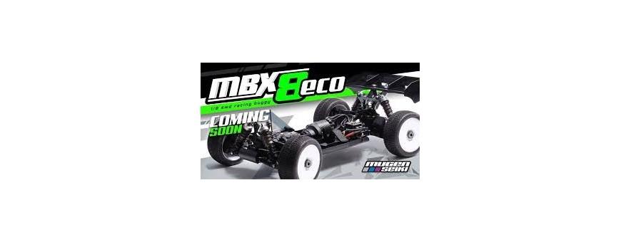 Spares for Mugen MBX8ECOTE Nitro 1/8 Off Road