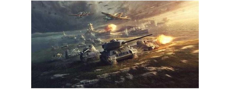 Tanques Militares de Plastimodelismo para Montagem e Construção de Maquetes